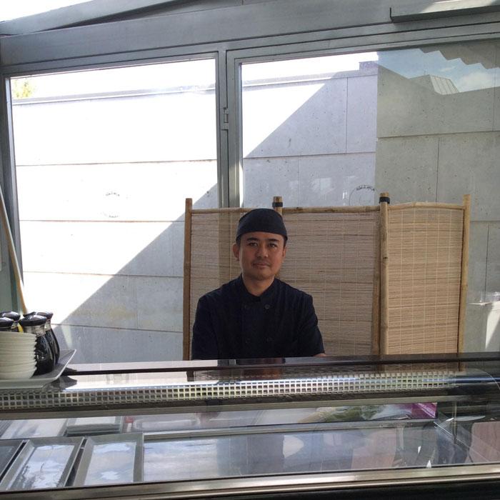 Nuestro sushiman